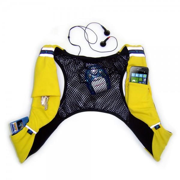 Urban Tool sportHolster SP02 yellow ultraleichter Laufrucksack