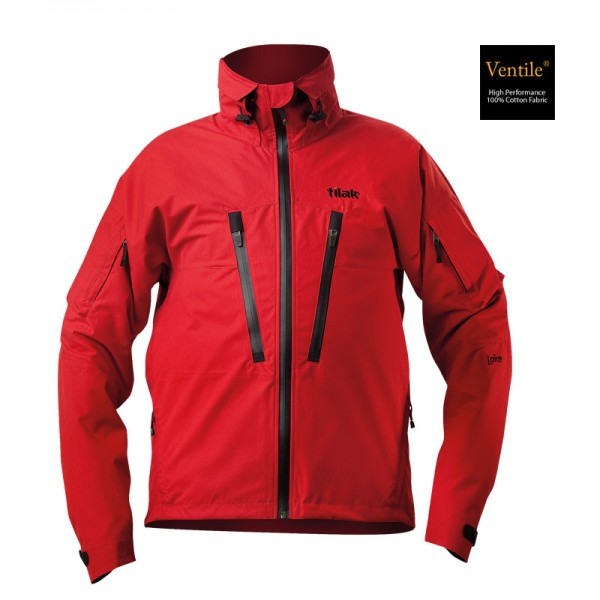 Outdoorjacke Tilak Loke Ventile red