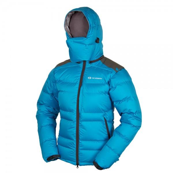 b85a52dd9c681d Damen Daunenjacke Sir Joseph Mitra blue für den Bergsport und Wintersport