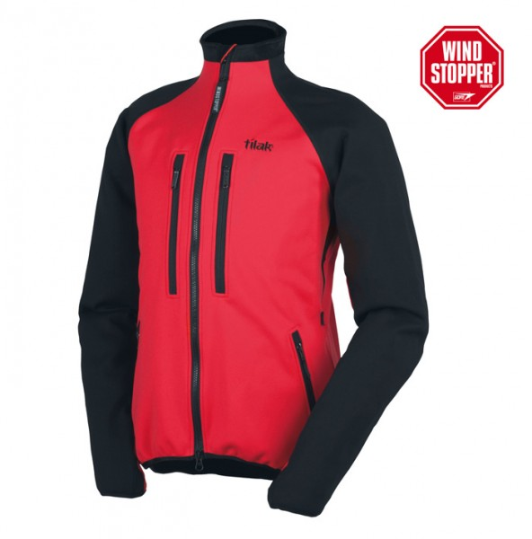 Windstopper-Jacke Tilak OGRE ACTION red/black