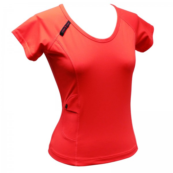 Funktionsshirt Urban Tool iShirt female orange