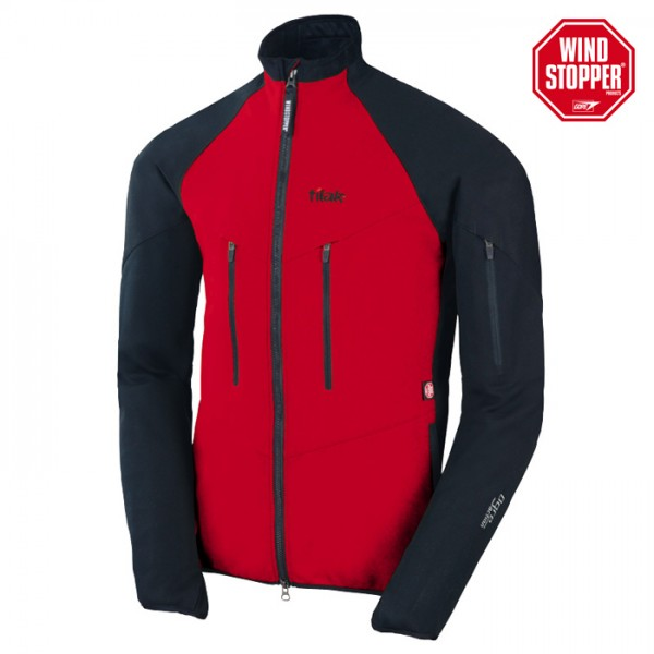 Windstopper Softshell Tilak OGRE classic red