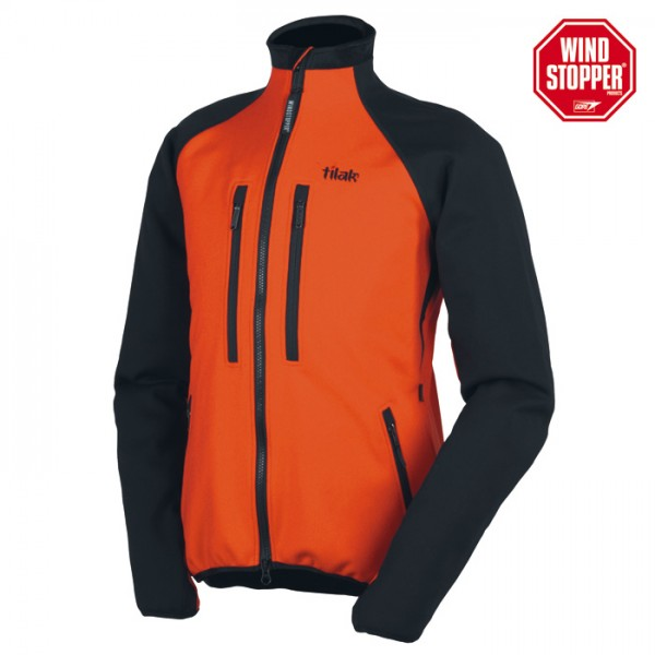 Tilak OGRE ACTION orange/black Windstopper-Jacke