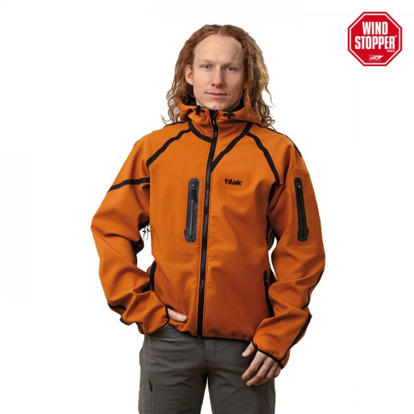 Softshell Jacke Windstopper Tilak Ogre Hood orange