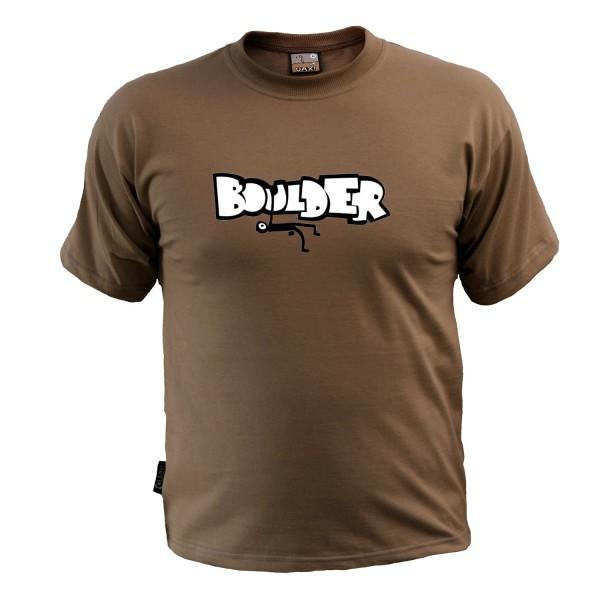 Uax Skrat Brown Sugar - Boulder Kurzarm-T-Shirt
